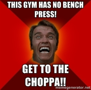 arnold bench